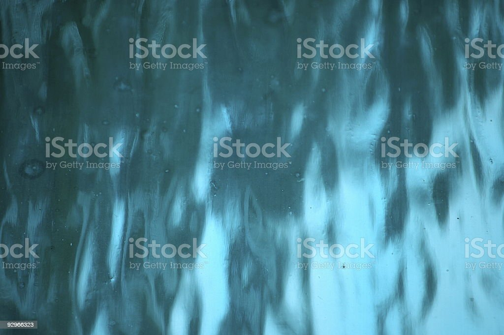Blue Stained Glass royalty-free stock photo