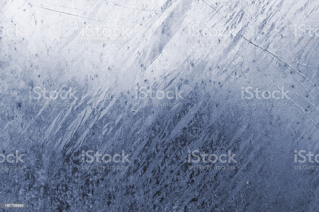 Blue stained steel texture/ Background (XXXL) royalty-free stock photo