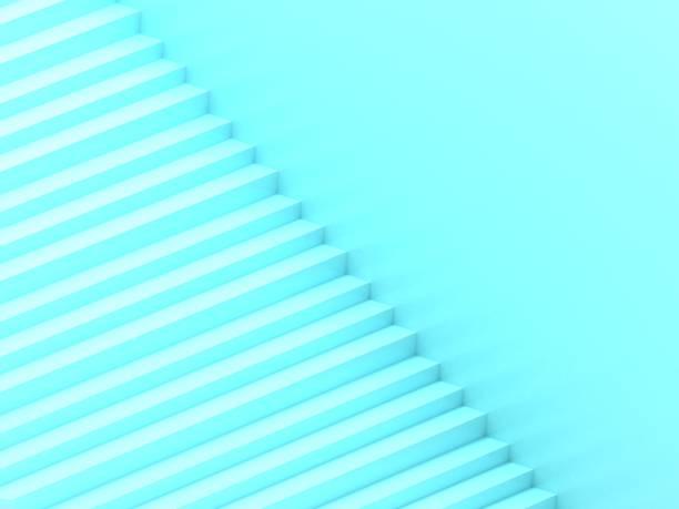 Escada azul - foto de acervo