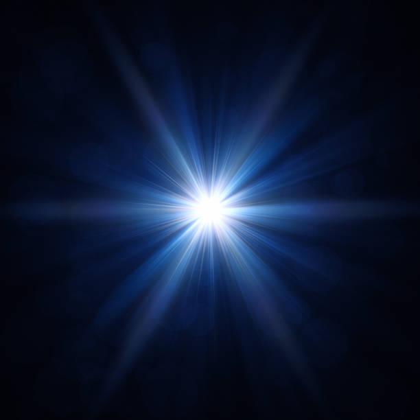 светло голубая star - блестящий стоковые фото и изображения