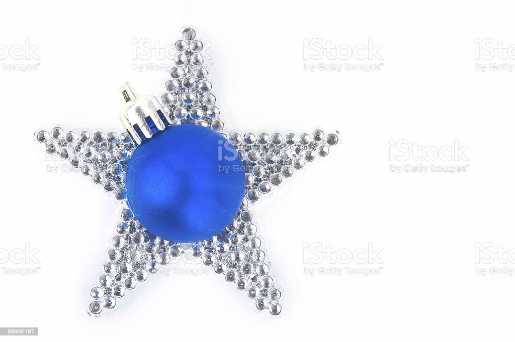 Azul star foto de stock libre de derechos