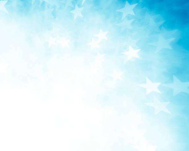 Blue star Form Hintergrund – Foto
