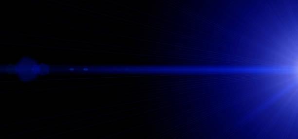 blaue starlights. abstrakte darstellung der verwerfung raum bewegung. raum verwischt landschaft. hintergrund mit leuchtenden fackeln. wide-format - fluoreszierend stock-fotos und bilder