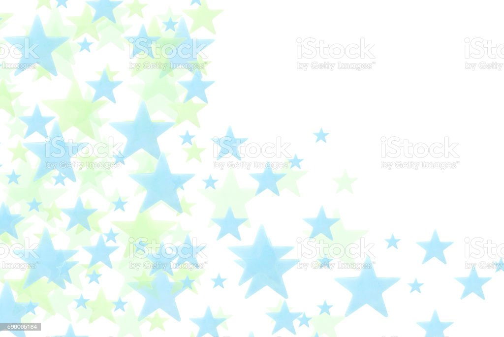 Blue stars on white background royalty-free stock photo