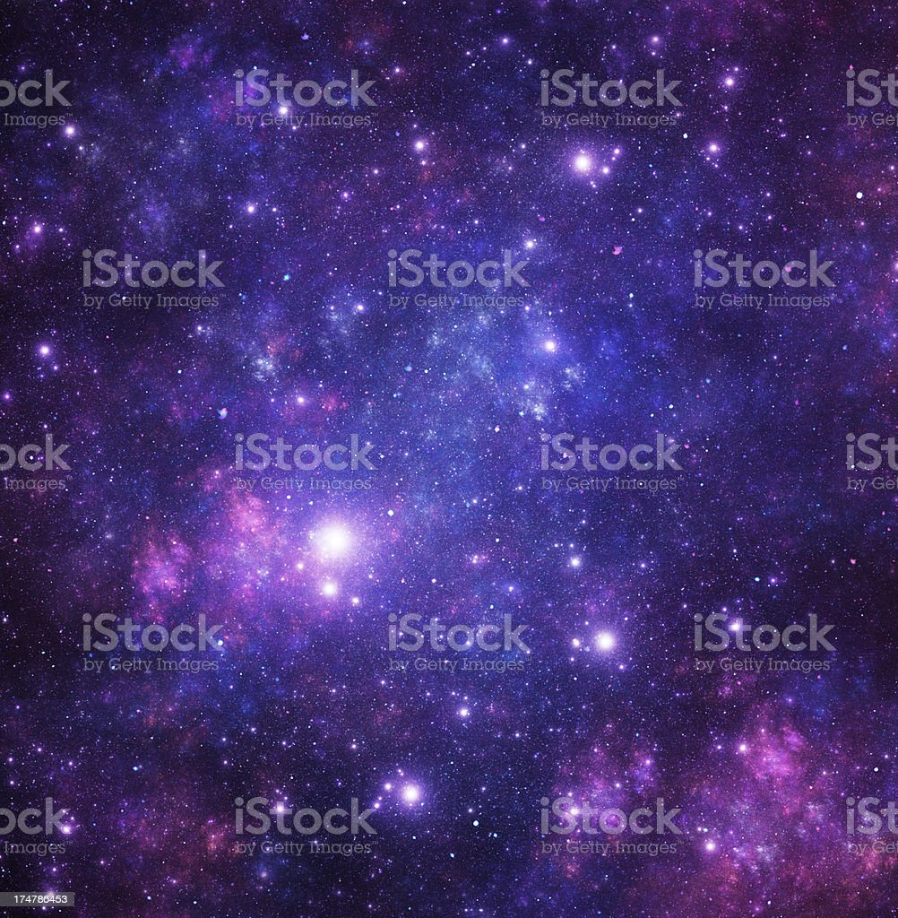 Blue stars royalty-free stock photo
