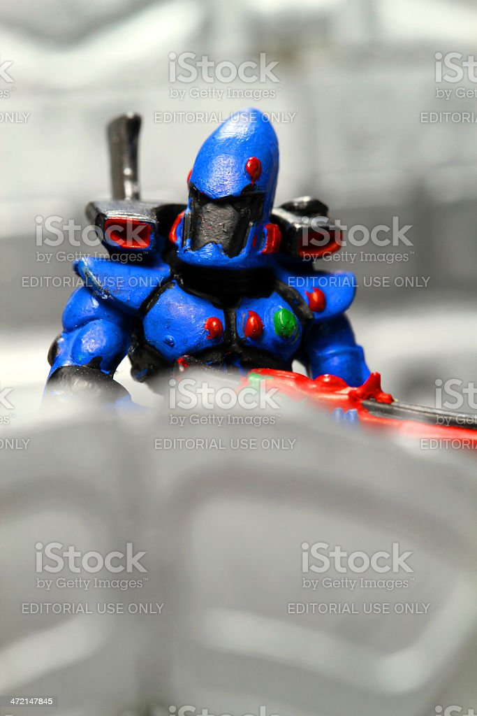 Blue Stealth royalty-free stock photo