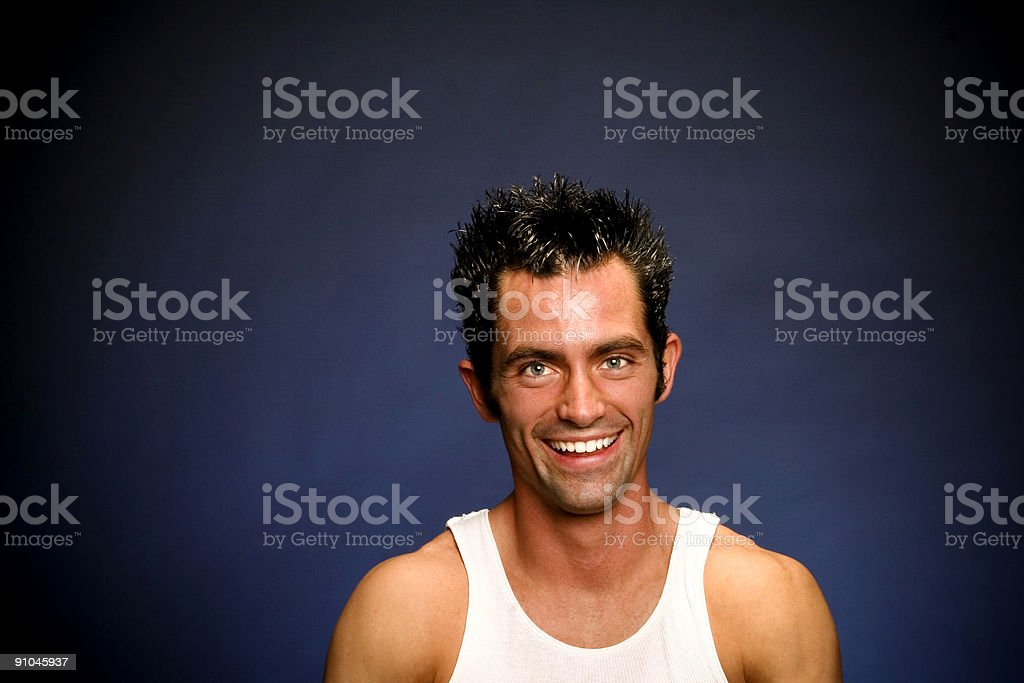Blue Steel Portraits stock photo