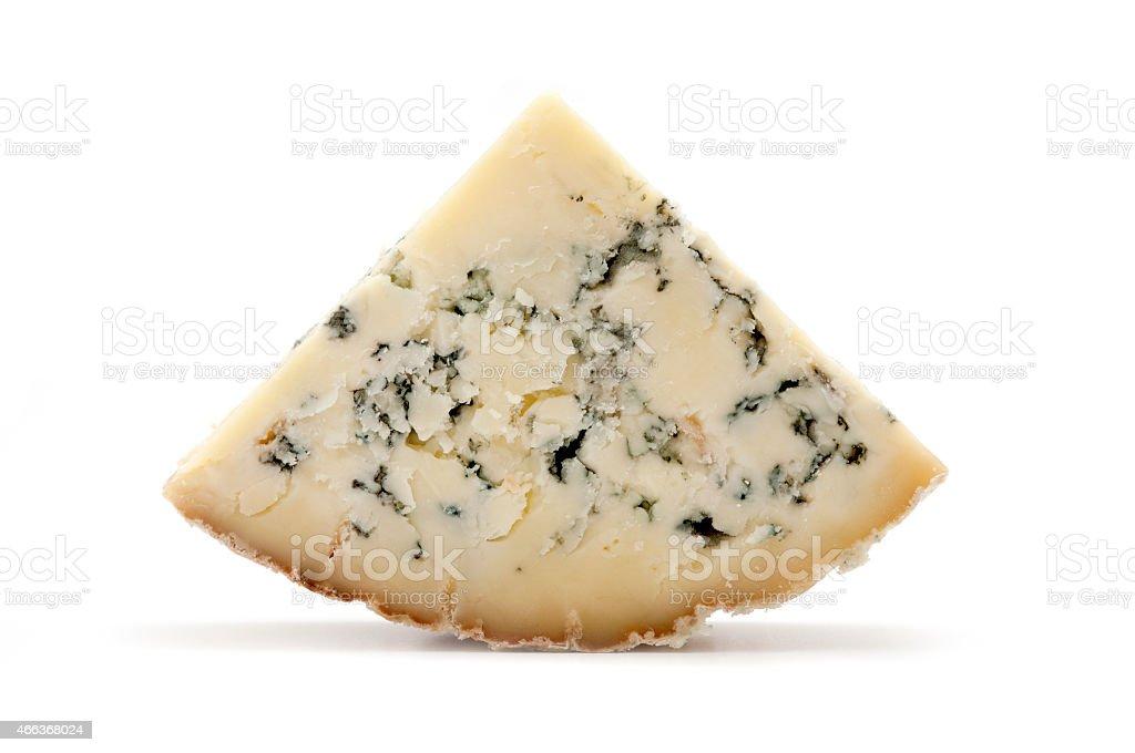 Blue Stilton cheese stock photo