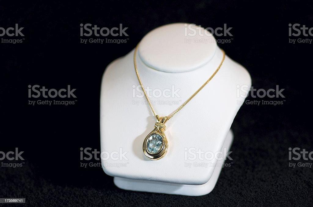 blue stone royalty-free stock photo