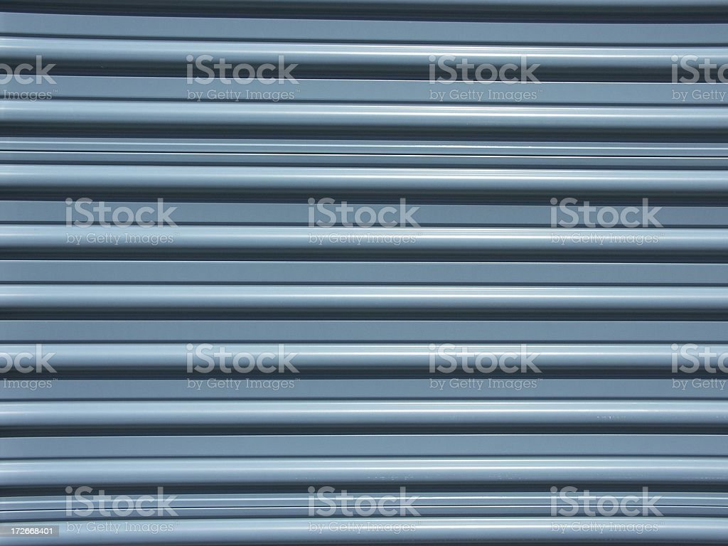 Blue Storage Door - Request royalty-free stock photo