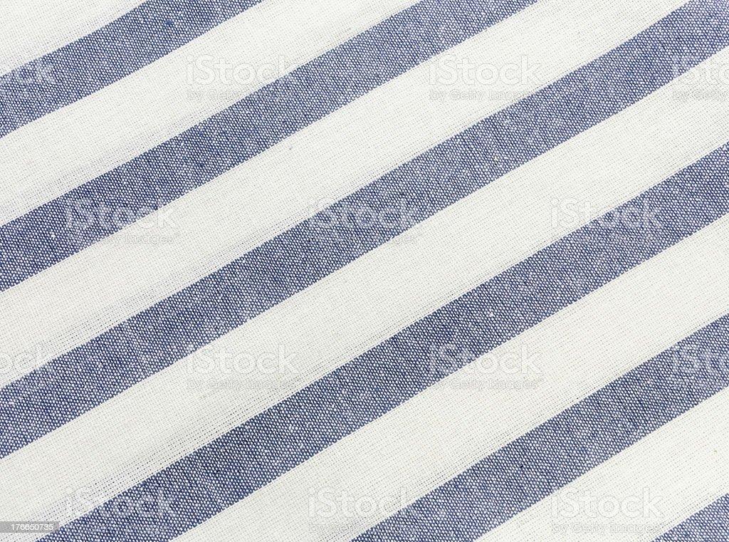 Azul manteles a rayas foto de stock libre de derechos