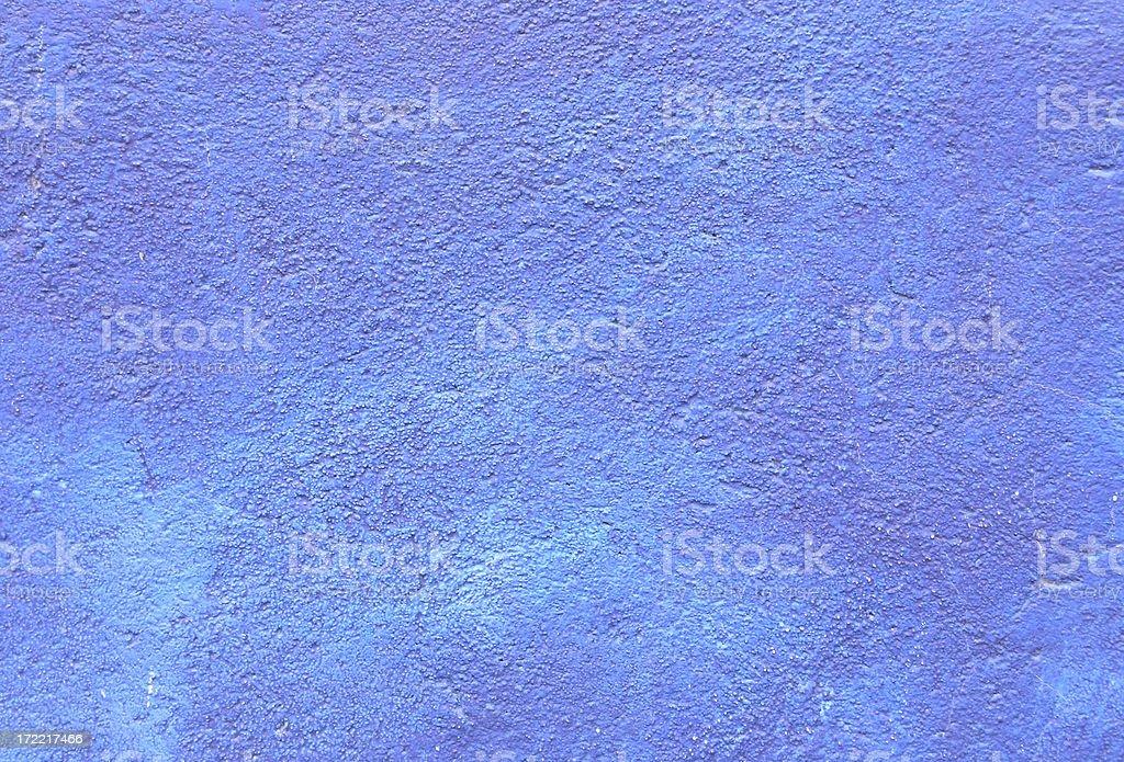 Blue Stucco royalty-free stock photo