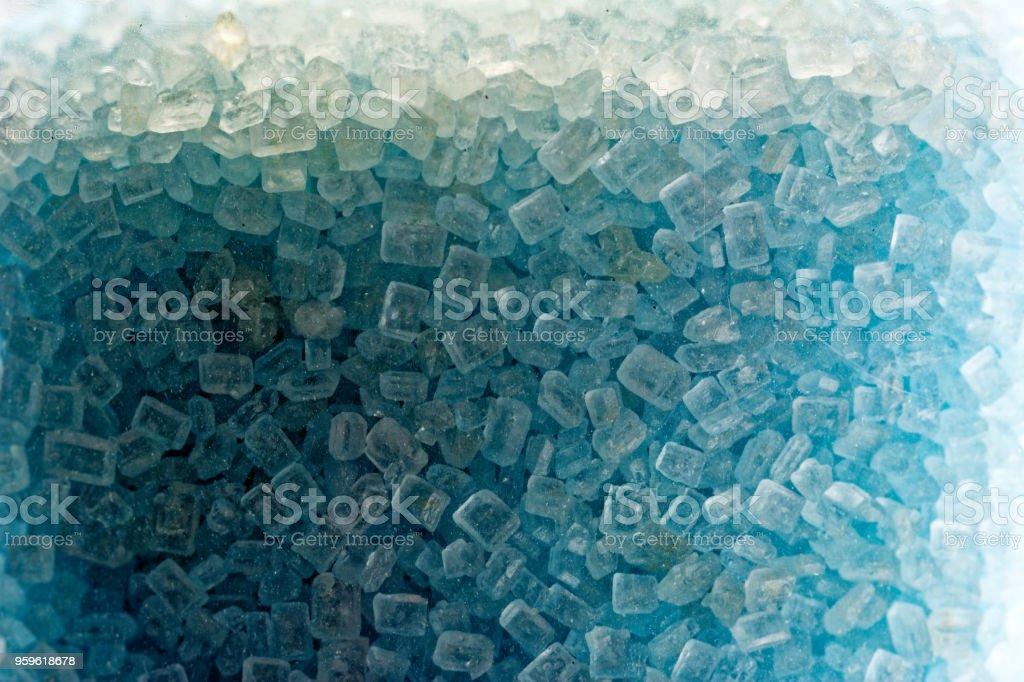 Azul de azúcar - Foto de stock de Abstracto libre de derechos