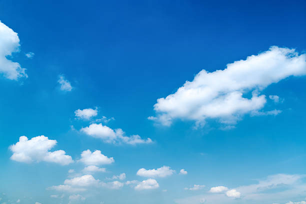 Blue, Summer Sky stock photo