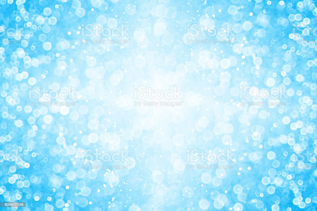 Blue Summer Underwater Swimming Pool Party Background or Invitation stock photo