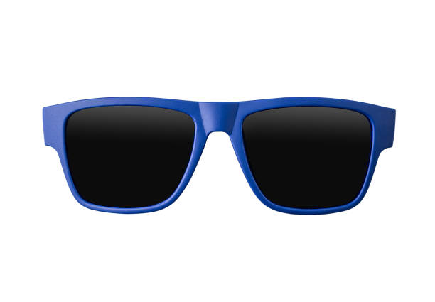 Blue sunglasses - fotografia de stock