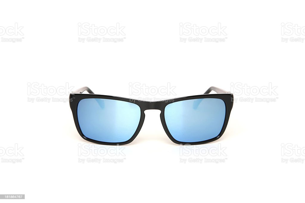 Blue Sunglasses stock photo