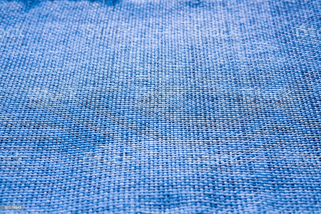 blue table cloth royalty-free stock photo