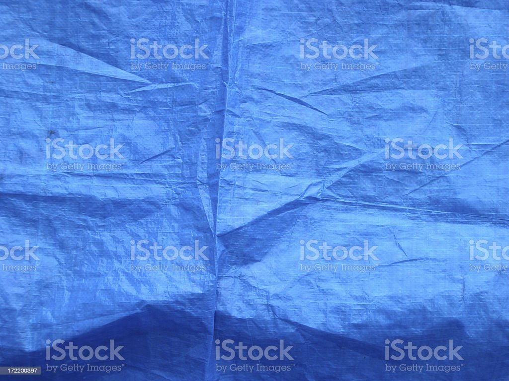 blue tarp stock photo