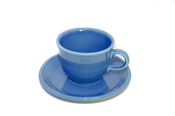 Blue tea cup – Foto