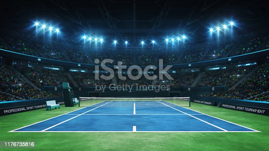 professional tennis sport 4k video background