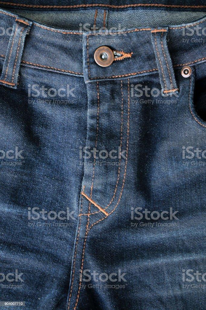 blue textile denim jeans stock photo