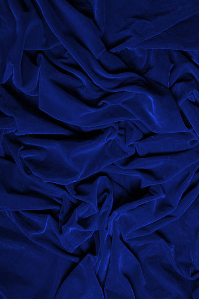 blue texture - velvet stock pictures, royalty-free photos & images