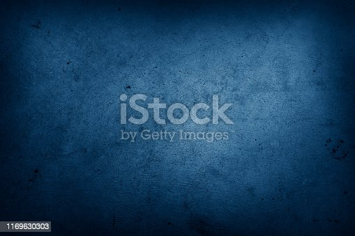 istock Blue textured background 1169630303