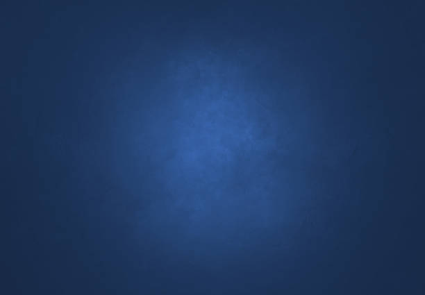 Blue Textured Wall stock photo