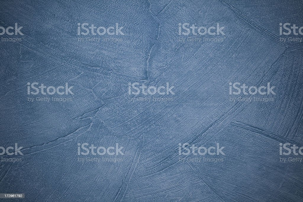 Blue textured wall surface royalty-free stock photo