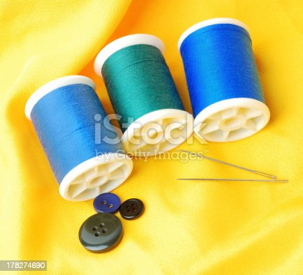 istock blue threads set 178274690