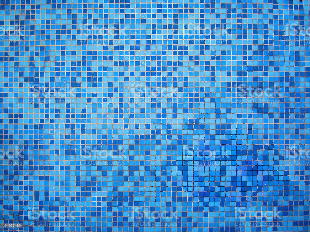 blue tile background royalty-free stock photo