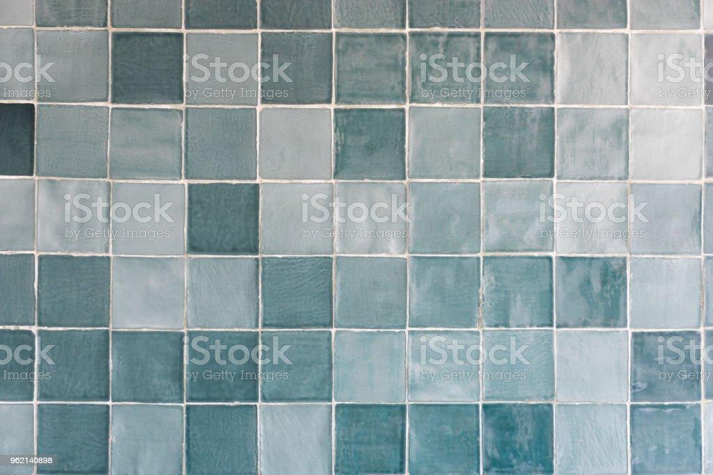 Blaue Fliesen Muster Stockfoto und mehr Bilder von ...