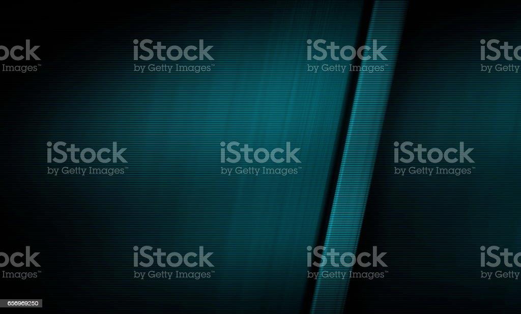 blau getönte matt Metall Textur mit poliertem Aluminium finish – Foto