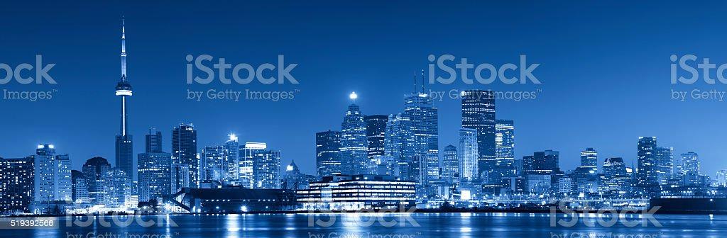 Blue Toronto stock photo