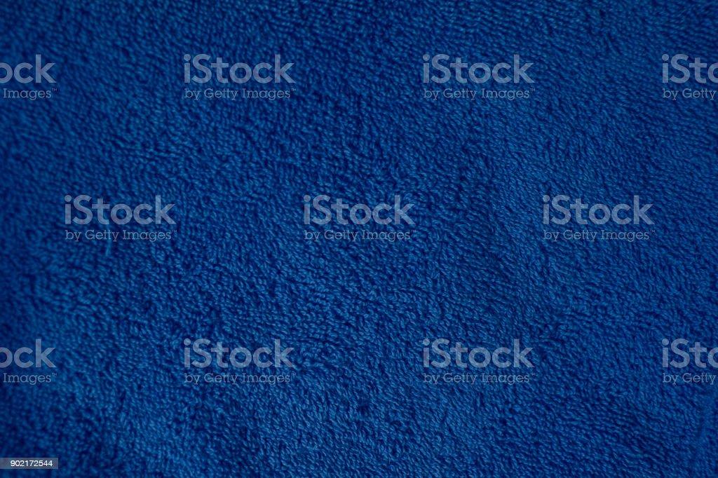 blue towel background texture fiber stock photo