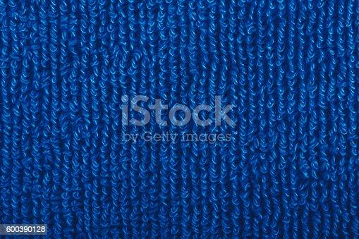 1131900491istockphoto Blue Towel 600390128