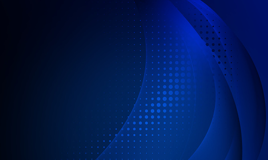 Blue Transparency gradient abstract background