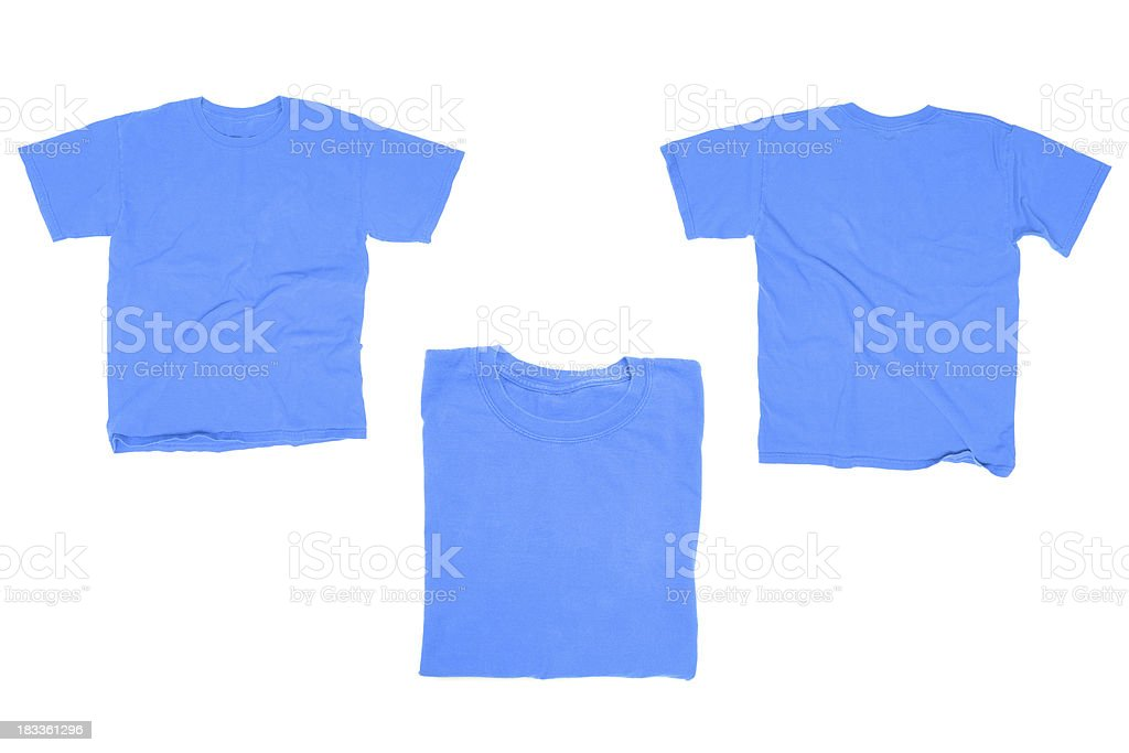 Bleu T-Shirt - Photo