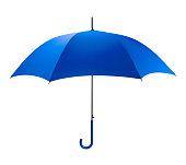 istock Blue Umbrella 866721702