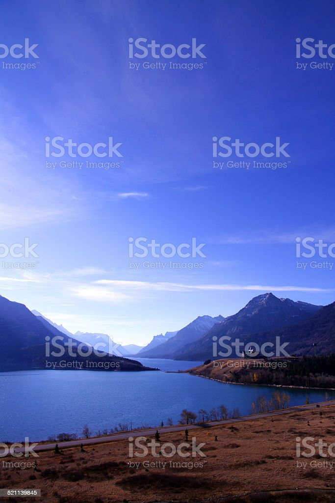 Blue Valley stock photo