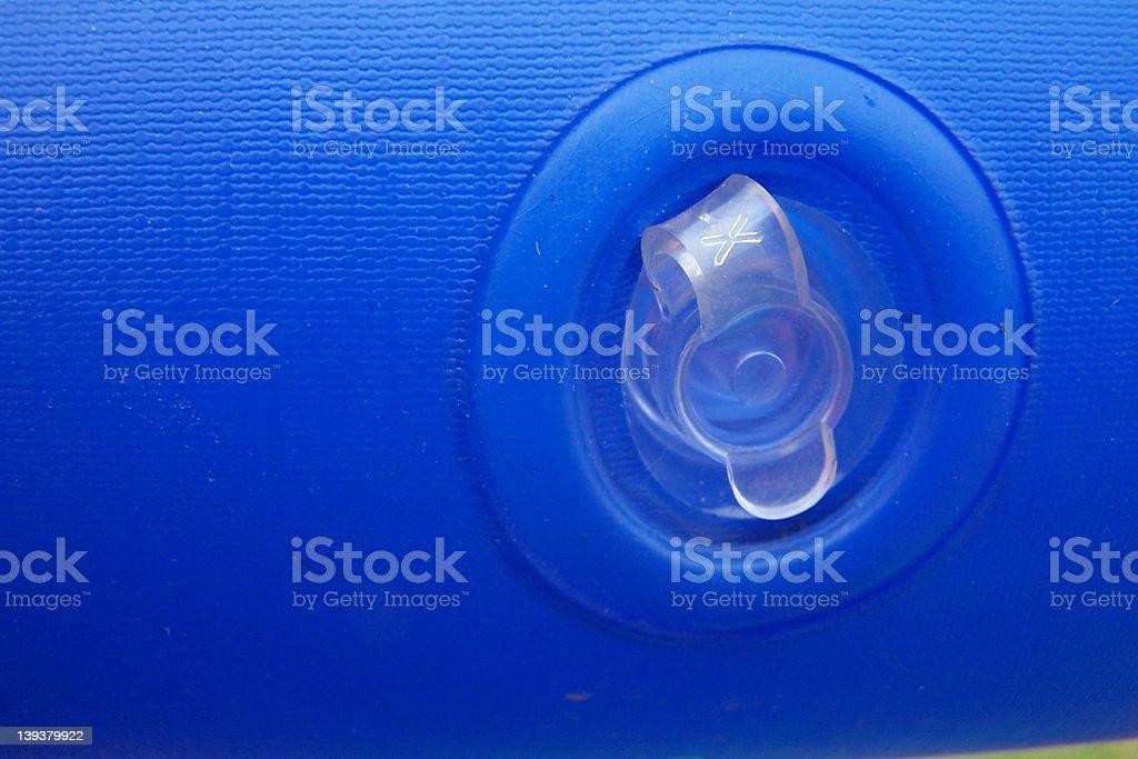 Blue Valve royalty-free stock photo