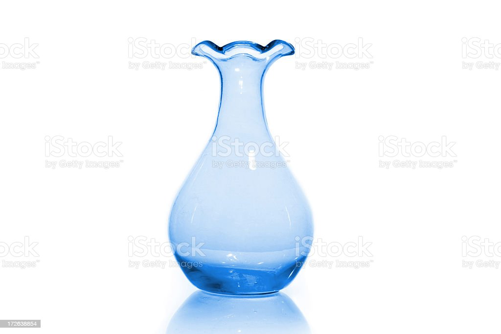 Blue Vase stock photo