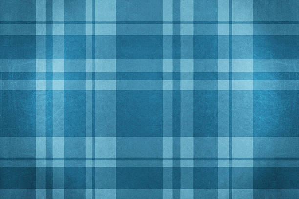 Blue velvet plaid fabric tablecloth Blue velvet plaid fabric tablecloth. plaid stock pictures, royalty-free photos & images