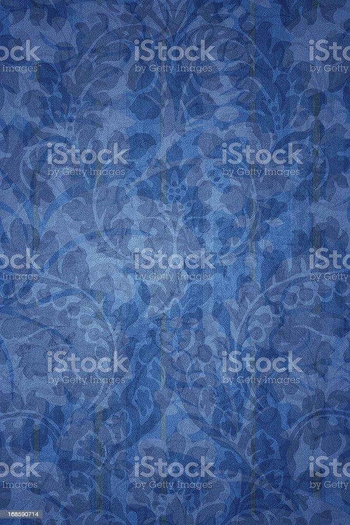 Bleu fond victorien - Photo