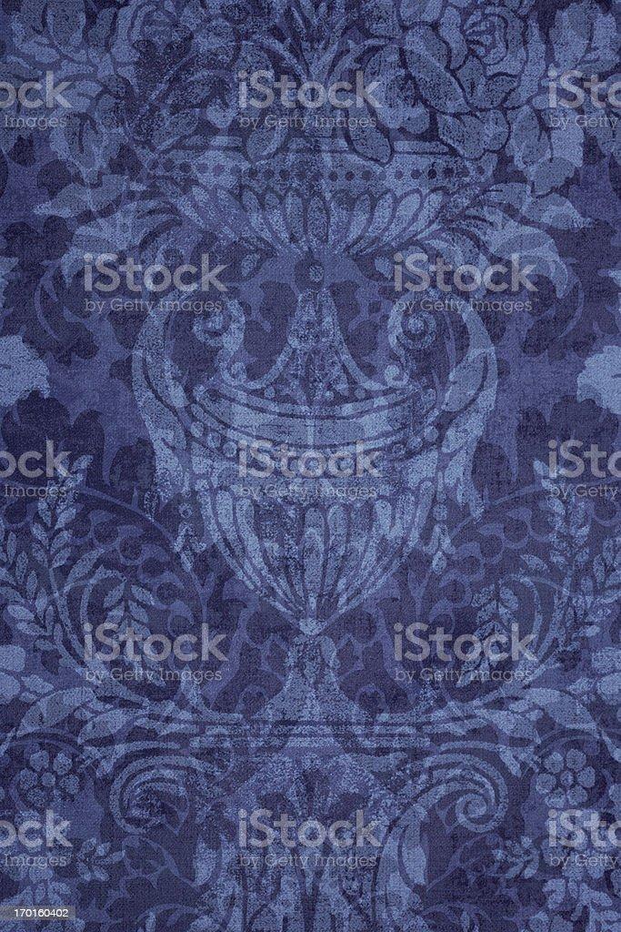 Blue Victorian Background stock photo