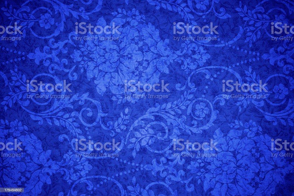 Blue Vintage Background royalty-free stock photo