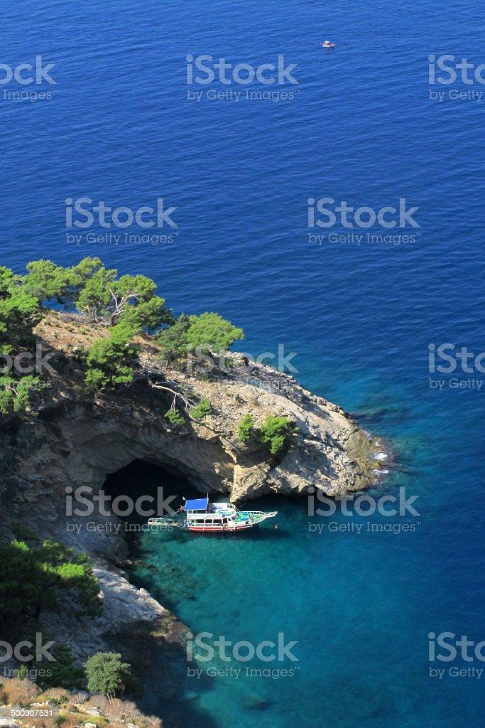 Blue Voyage royalty-free stock photo