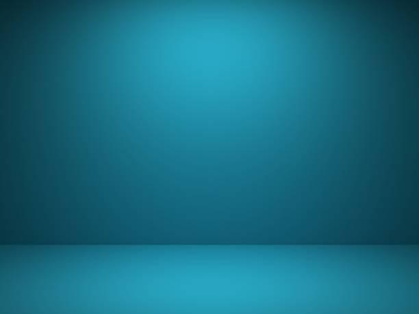 blaue wand hintergrund - studio stock-fotos und bilder