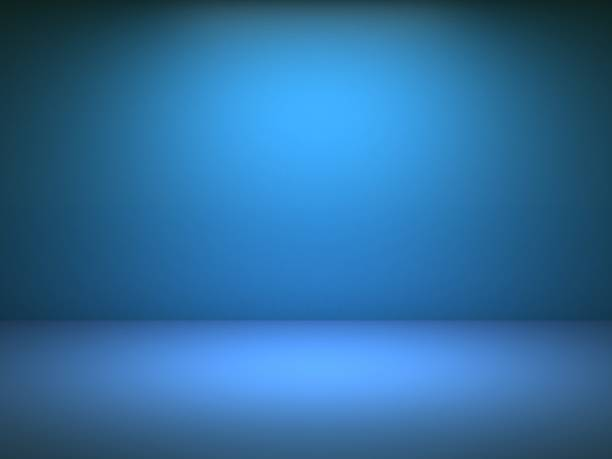 Blue wall background Blue wall background studio stock pictures, royalty-free photos & images